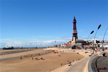 B66 Blackpool Express 2020 Newcastle - Blackpool