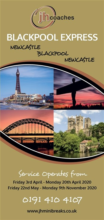 Blackpool Express Leaflet